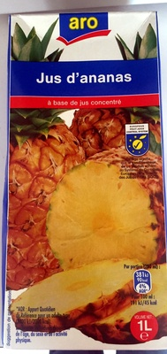 Jus d'ananas - Producto