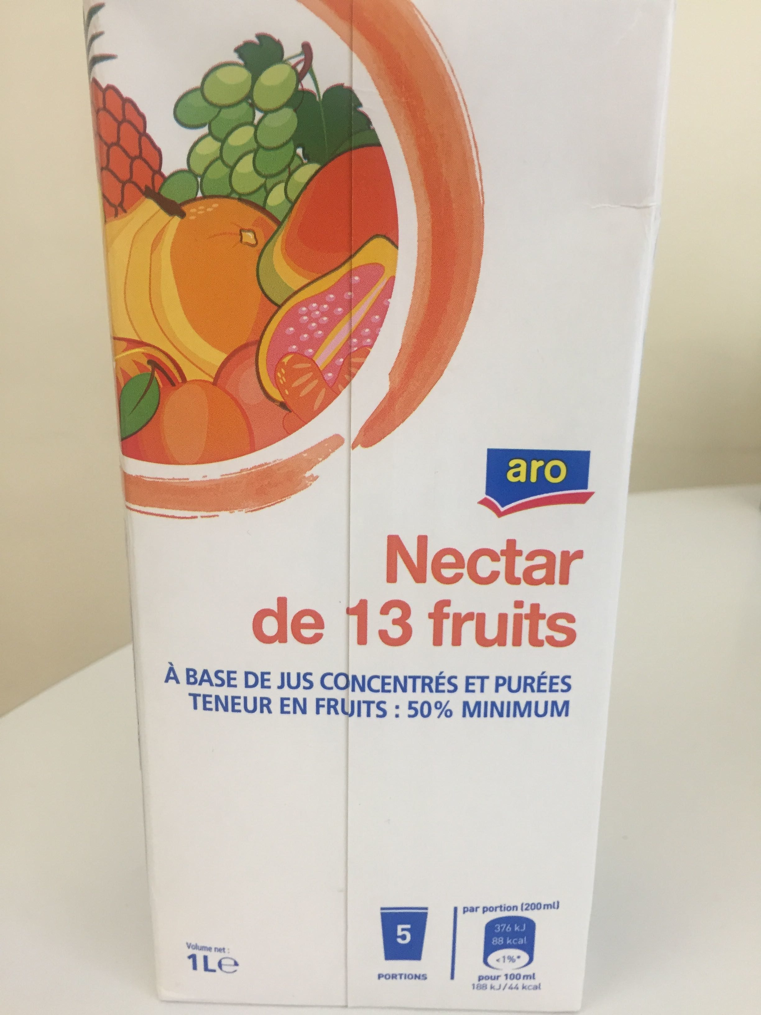 Nectar multifruits ARO - Product
