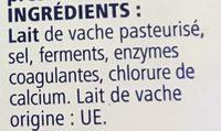Fromage en tranchettes spécial sandwich - Ingrediënten