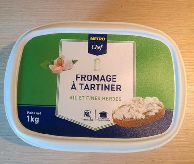 Fromage à tartiner à l'ail et aux fines herbes - Produit - fr