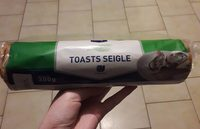 Toasts Seigle - Product - fr