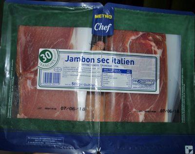 Jambon Sec Italien - Produit