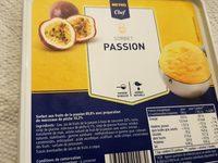 Sorbet passion - Produit