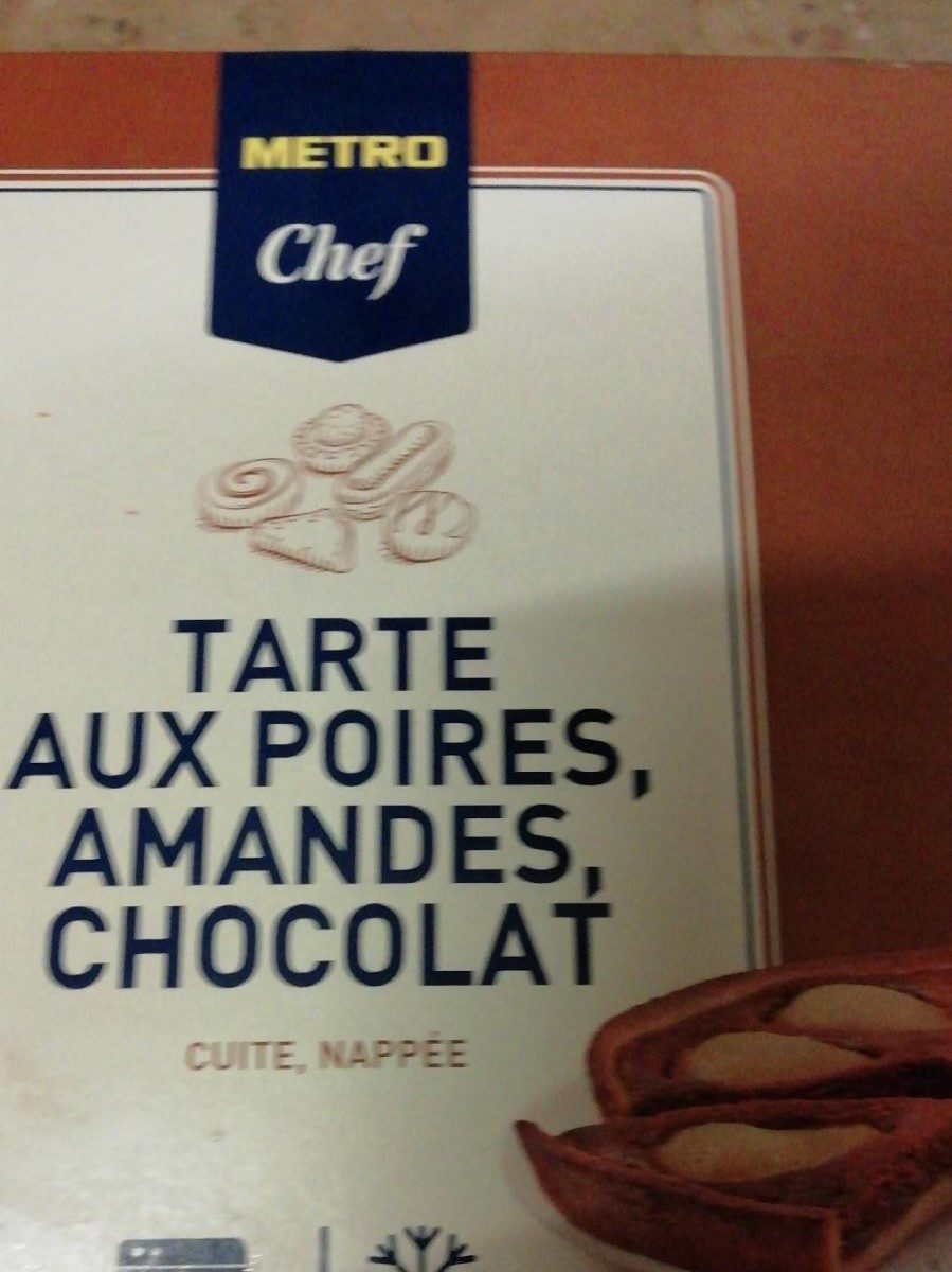tarte aux poires, amandes, chocolat - Prodotto - fr
