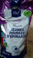 Salade jeunes pousses d'épinards - Product - fr