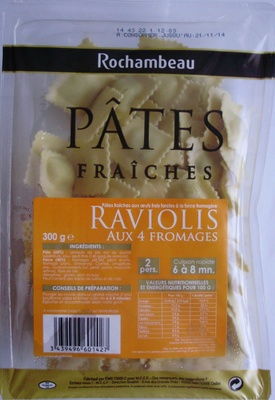 Raviolis aux 4 Fromages - Product