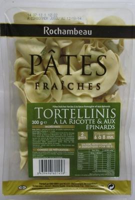Tortellinis à la ricotte & aux épinards - Produit - fr