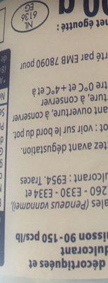 Crevettes Tropicales - Ingrédients - fr
