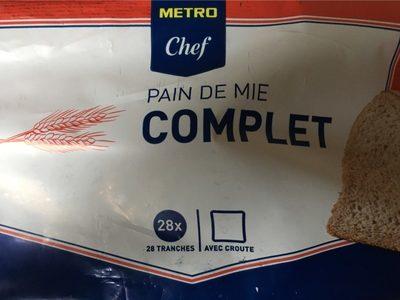Pain de Mie Complet - Product - fr