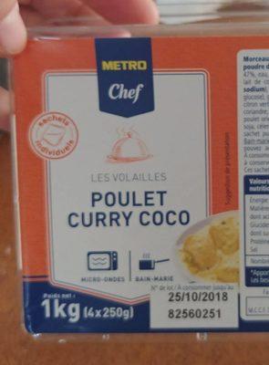 Poulet curry coco - Produkt - fr