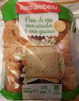 Pain de mie aux céréales et aux graines - Product - fr