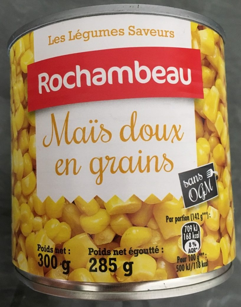 Maïs doux en grains - Produit - fr