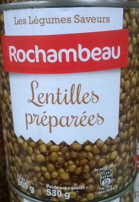 Lentilles préparées - Produit - fr
