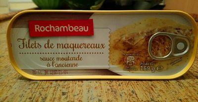 Filets de maquereaux sauce moutarde à l'ancienne - Product