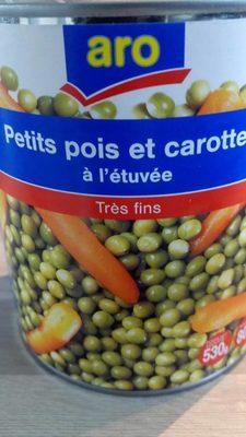 Petits pois et carottes à l'etuvee - Product