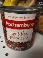 Lentilles Préparées Rochambeau - Produit - fr