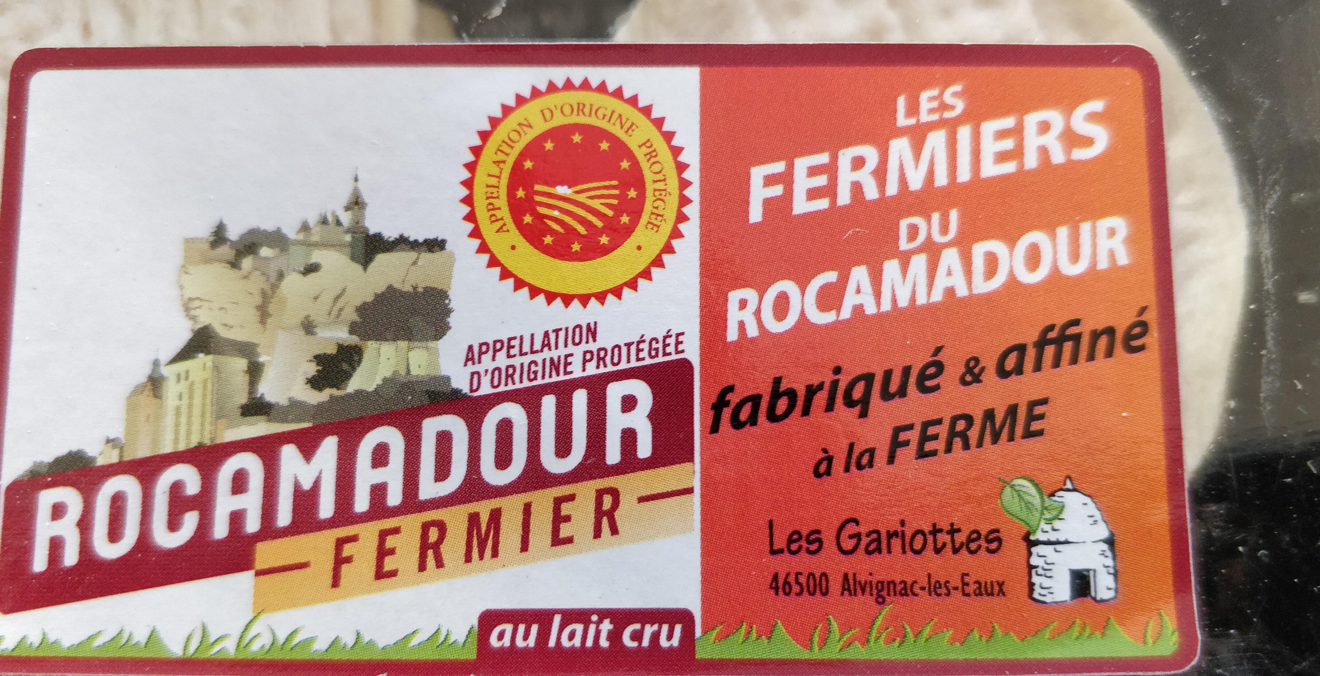 Rocamadour fermier - Product - fr