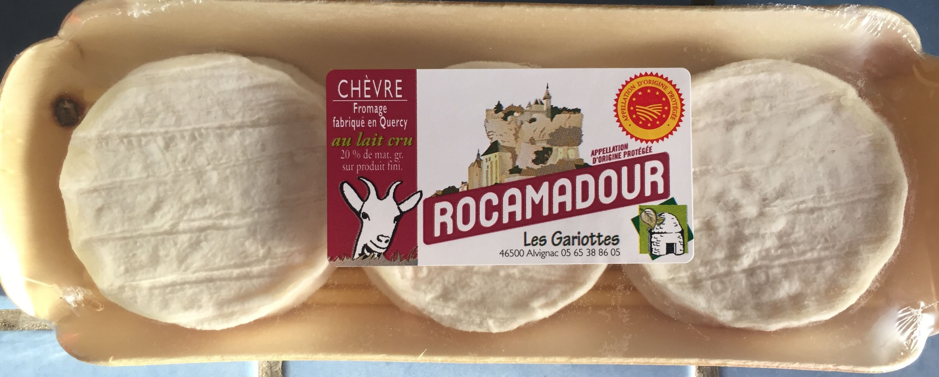 Rocamadour AOP - Fromage au lait de chèvre - Produit - fr