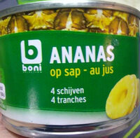 Ananas au jus - Produit - fr