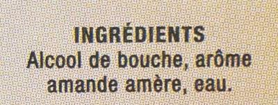 Arôme Amande Amère - Ingredients