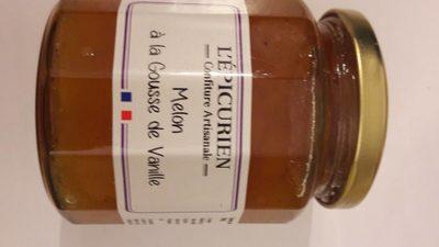 Confiture artisanale Melon à la gousse de vanille - Produit