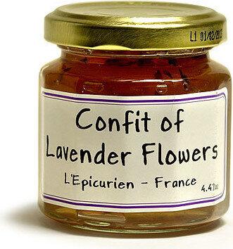 L'epicurien Lavender Buds Jelly - Confit of Lavender Flowers - Product - fr
