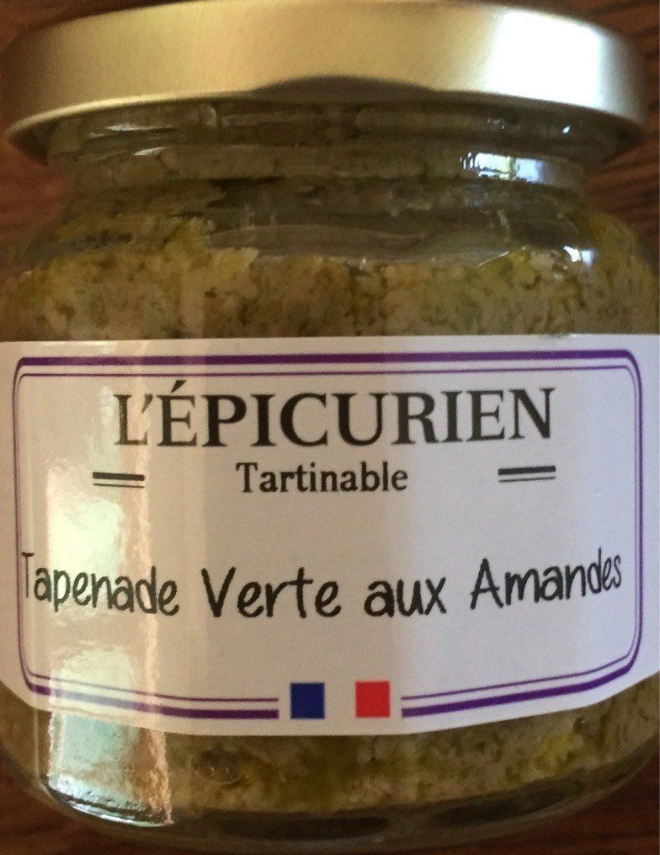 Tapenade verte aux amandes - Produit