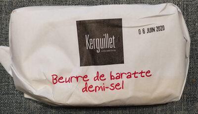 Beurre de baratte demi-sel - Produit - fr