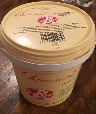 Choucroute cuisinée - Prodotto - fr