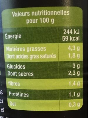 Choucroute cuisinee - Ingrediënten - fr
