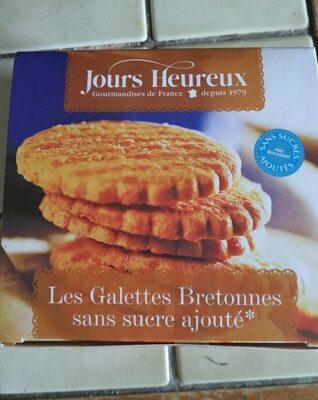 Galettes bretonnes sans sucres ajoutés - Produit - fr