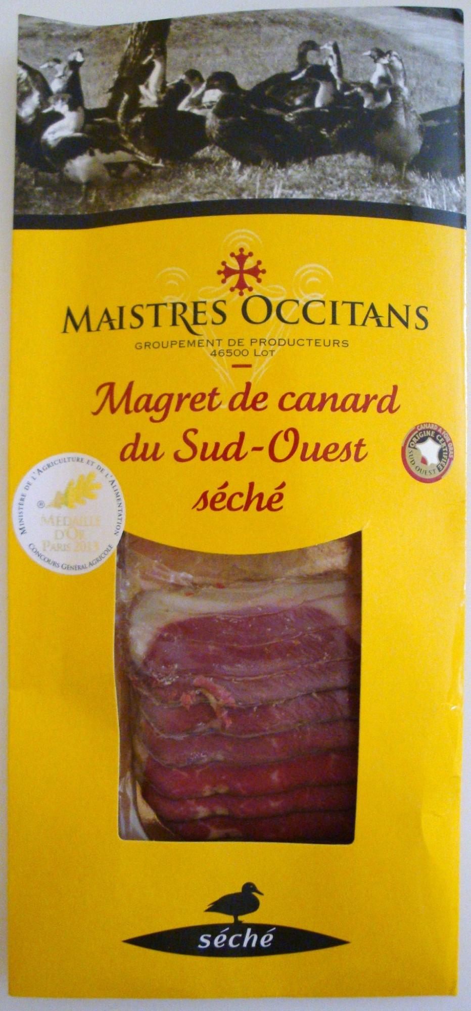 Magret de canard du Sud-Ouest séché - Product - fr