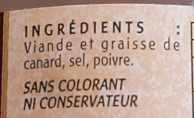 Fritons pur canard du Sud ouest - Ingredients - fr