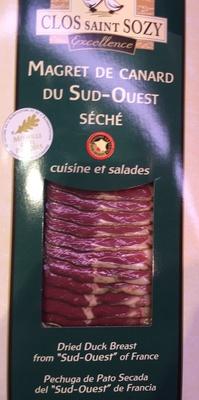 Magret de canard du S-O, séché - Produit
