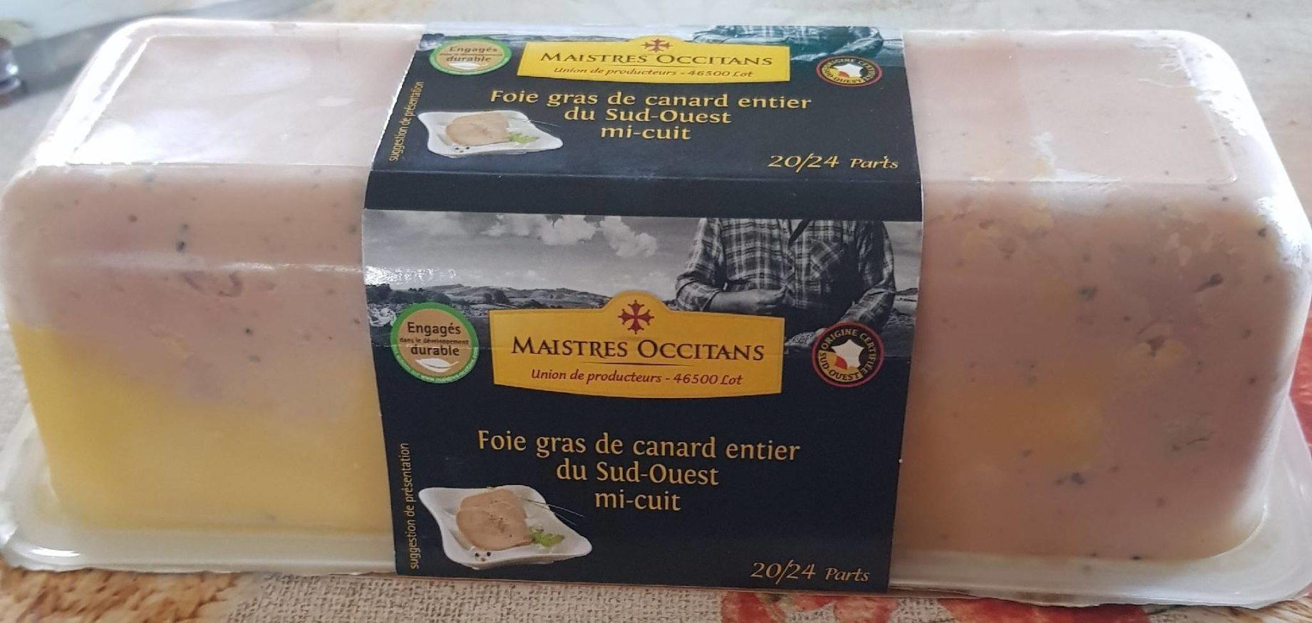 Foie gras de canard du Sud Ouest mi cuit - Product - fr