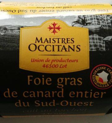 Foie gras de canard entier au torchon - Product