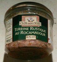 Terrine rustique au Rocamadour - Prodotto - fr
