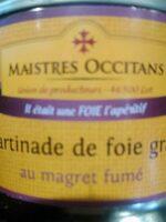 Tartinade de foie gras - Produit - fr