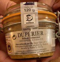 Foie Gras de Canard Entier des Landes - Produit - fr