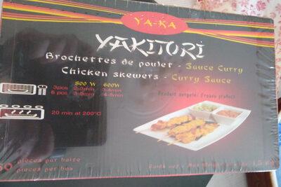 brochettes de poulet - Product - fr