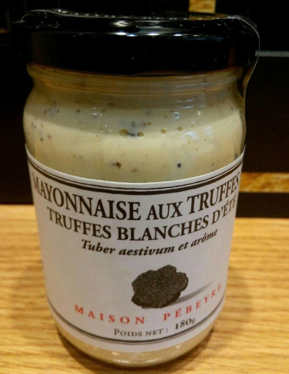 Mayonnaise aux truffes blanche d'été - Product - fr