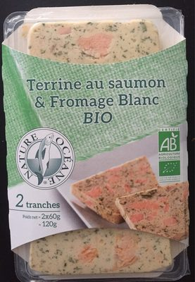 Terrine au saumon et fromage blanc - Product