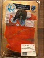 Saumon rouge du Pacifique fumé - Produit - fr