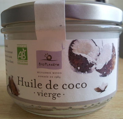 Huile de coco vierge - Product