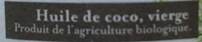 Huile de coco vierge - Ingrédients