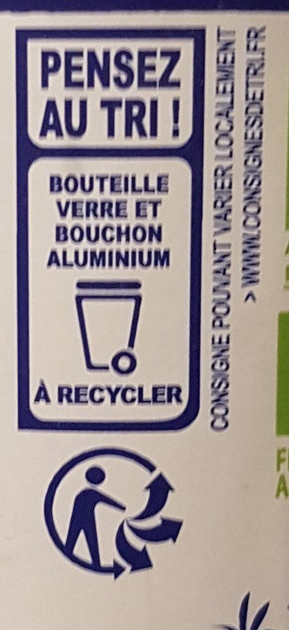 Huile vierge de tournesol - Instruction de recyclage et/ou information d'emballage - fr