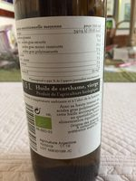 Huile De Carthame Vierge Bio - 500 ML - Bio Planete - Ingrédients - fr