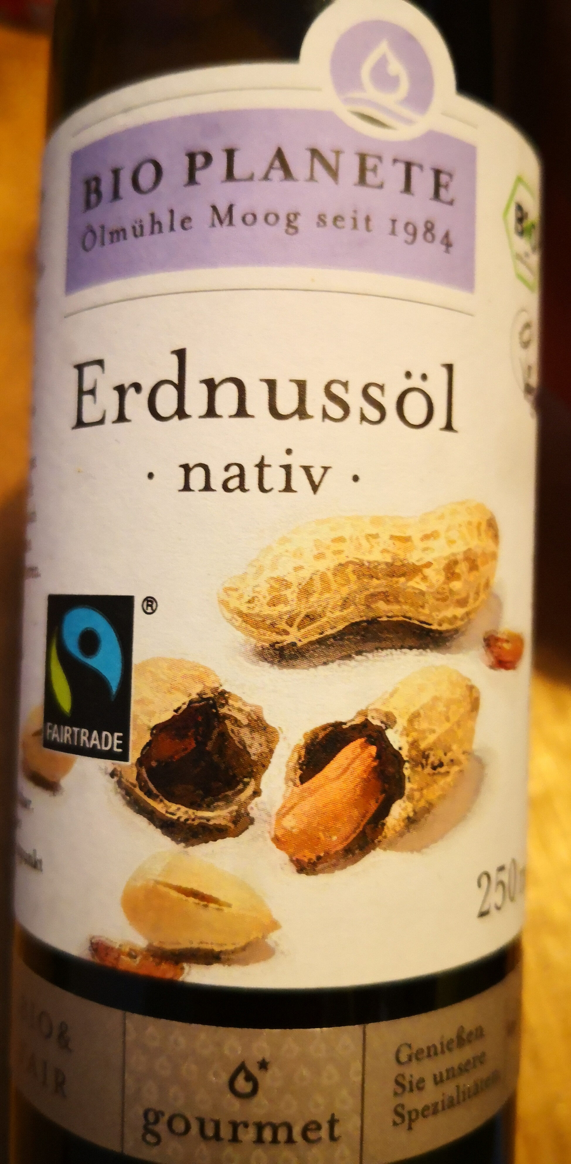 Erdnussöl nativ - Product - de