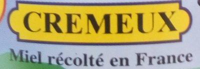Miel crémeux - Ingrédients