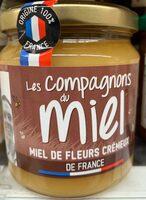 Miel de fleurs crémeux de France - Product - fr